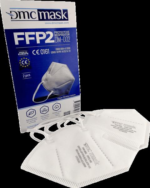 100 gab FFP2 Respirators-aizsargmaska DMC DM-002